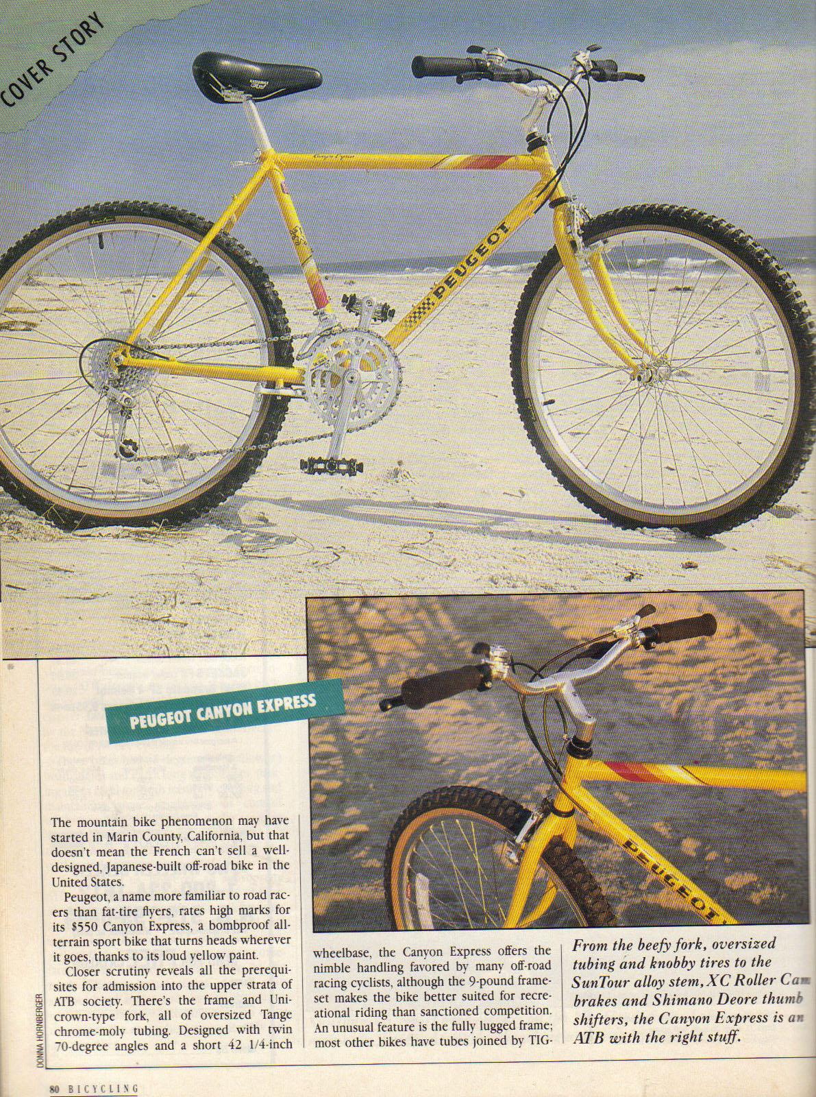 MOMBAT:Peugeot Mountain Bike History