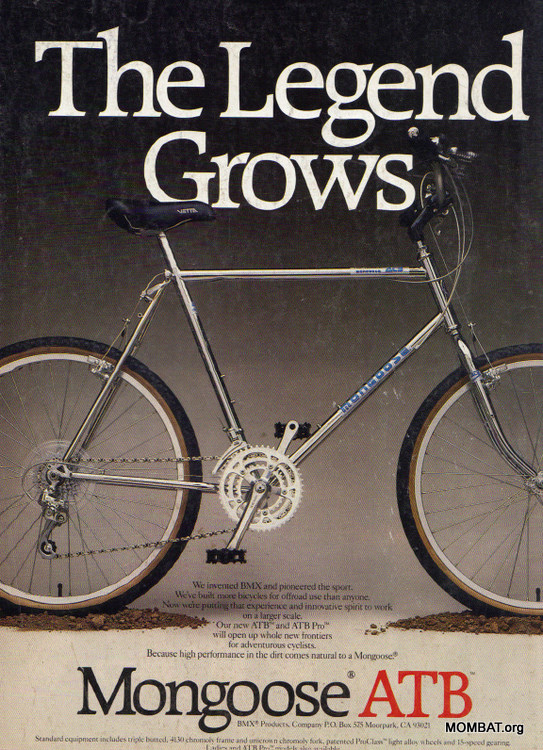 July 1986 Mongoose