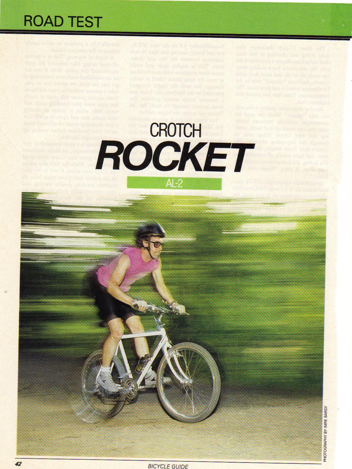 Crotch Rocket