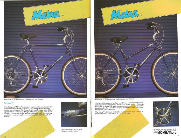 Mongoose 1986