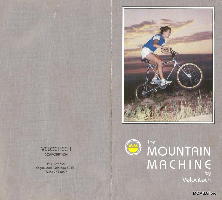 Mountain Machine catalog