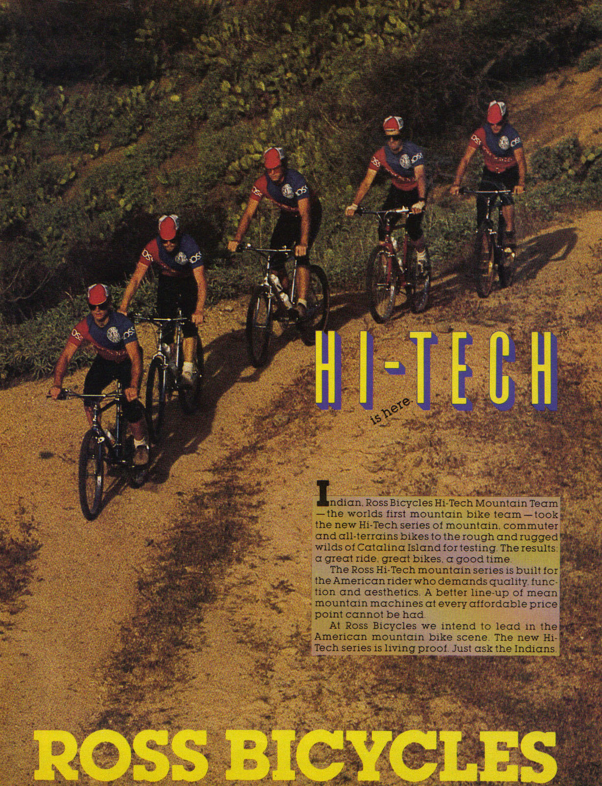 MOMBAT: Ross Bicycles History